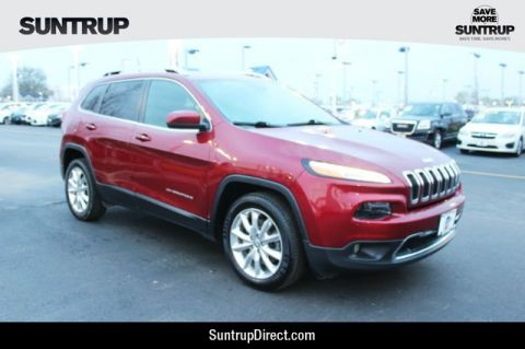 Pre-Owned 2017 Jeep Cherokee 2WD Limited