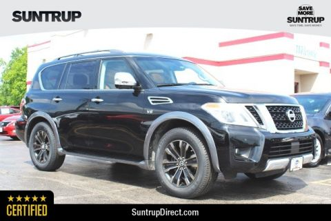 Certified Pre-Owned 2017 Nissan Armada Platinum